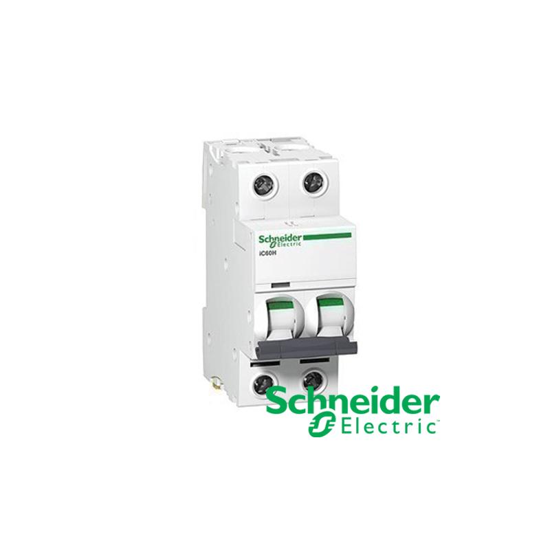 Interruptor Automático Magneto térmico iC60N 20A 2P SCHNEIDER