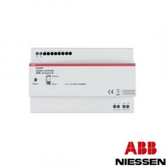 Sistema de control- Salida 1,2A, carril DIN, 8 módulos W2300