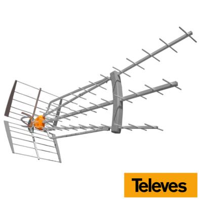 Antena Terrestre DAT BOSS LR UHF (C21-60) G47 dBi