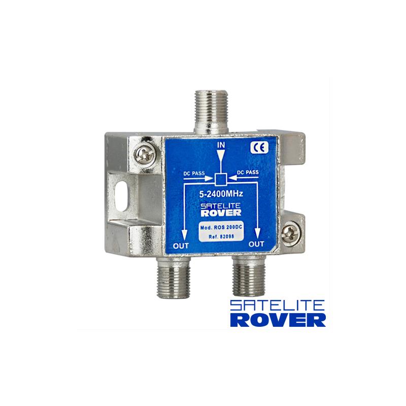 Distribuidor Rover 1 entrada 2 salidas con paso de corriente