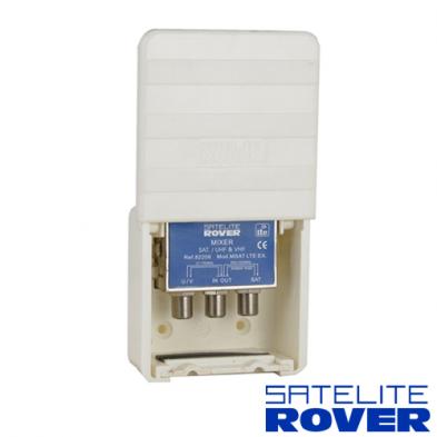 Mezclador diplexor TV/SAT MSAT Exterior LTE