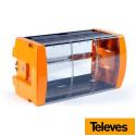 Cofre con cerradura 498mm 10 módulos T12/T05