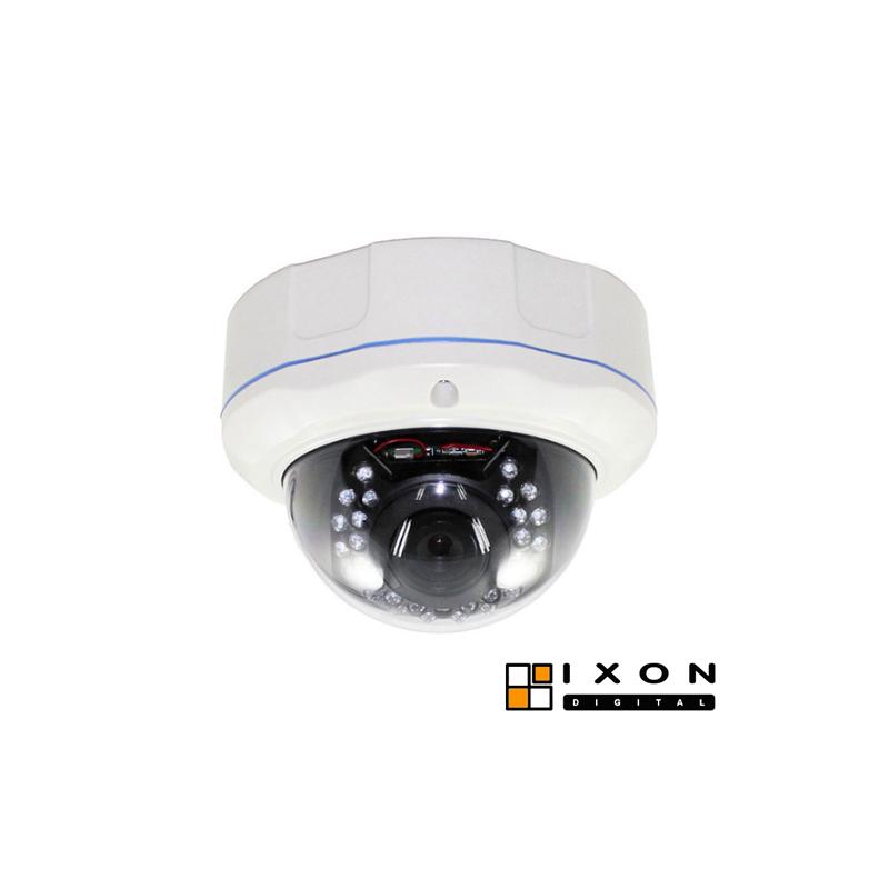 Domo exterior antivandálico 1080p, Onvif, óptica varifocal f2.8-12mm, IR 30m
