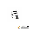 Adaptador BNC a UTP (Instalación con par trenzado)