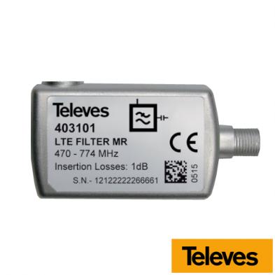 Filtro LTE Televés C60 403401