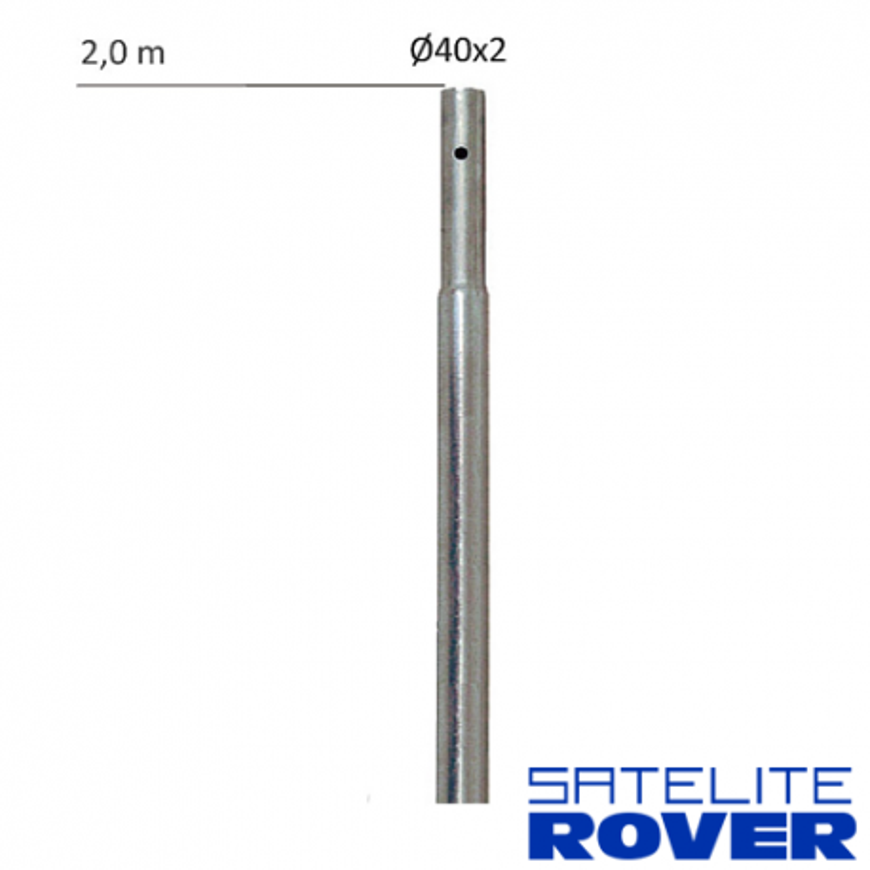 Mástil antena 2.5m - 35mm