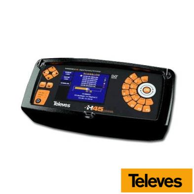 Medidor de Campo H45 Compact: Full HD + CI + DVB-T2