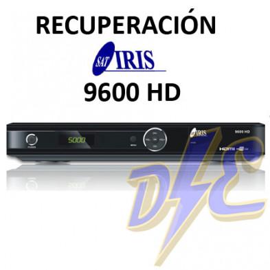 Recuperación receptor IRIS 9600 HD, 02, 9700, 9900 por bloqueo