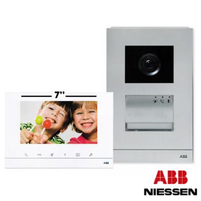 Kit Videoportero Welcome Manos Libres Monitor 7 Pulgadas Niessen ABB W28212