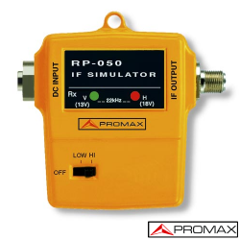 Generador de señal IF y UHF RP-050