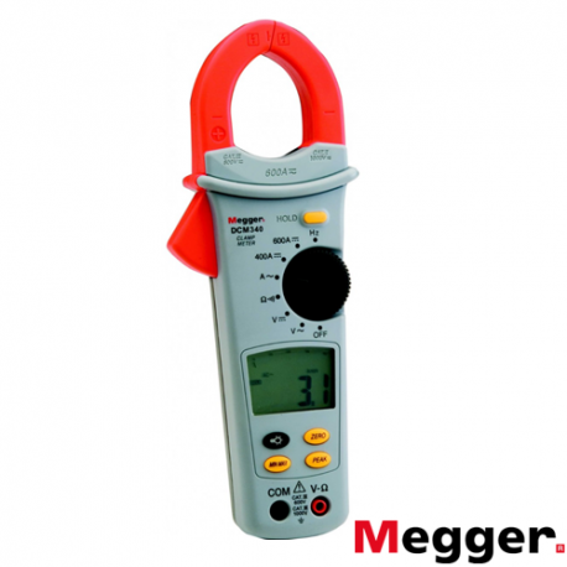 Pinza Amperimétrica Multímetro CA/CC DCM340