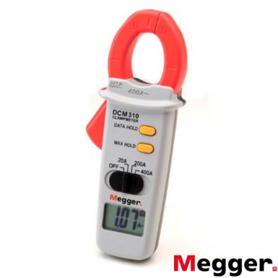 DCM310 Pinza Amperimétrica Megger Arranque de Motores