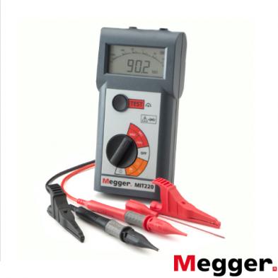 Medidor de Aislamiento y Continuidad 250/500 V MIT220-EN