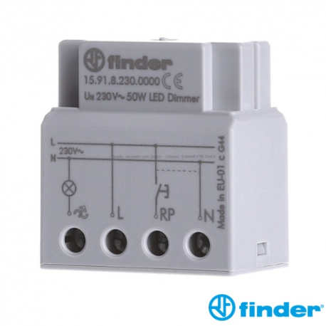 DIMMER para LÁMPARAS LED 15.91 Finder 159182300000