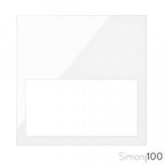 Marco Mínimo 1 Elemento Blanco Simon 100