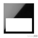 Marco Mínimo 1 Elemento Negro Simon 100