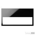 Marco Mínimo 2 Elementos Negro Simon 100