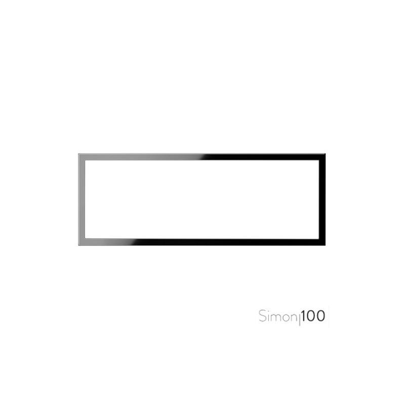 Marco 3 Elementos Negro Simon 100