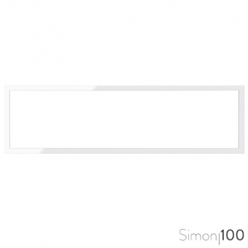 Marco 4 Elementos Blanco Simon 100