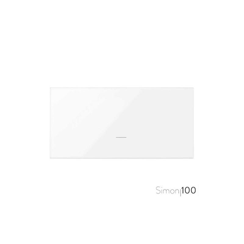 Tecla Individual para Mecanismos de Mando Blanco Simon 100