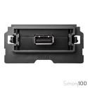 Cargador 1 USB 2.0 5 V/DC Tipo A Hembra Simon 100
