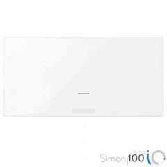 Tecla IO para Interruptor Electrónico Blanco Simon 100