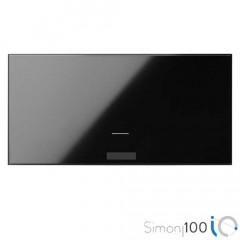 Tecla IO para Interruptor Electrónico Negro Simon 100