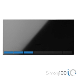 Tecla Master Regulable IO Negro Simon 100