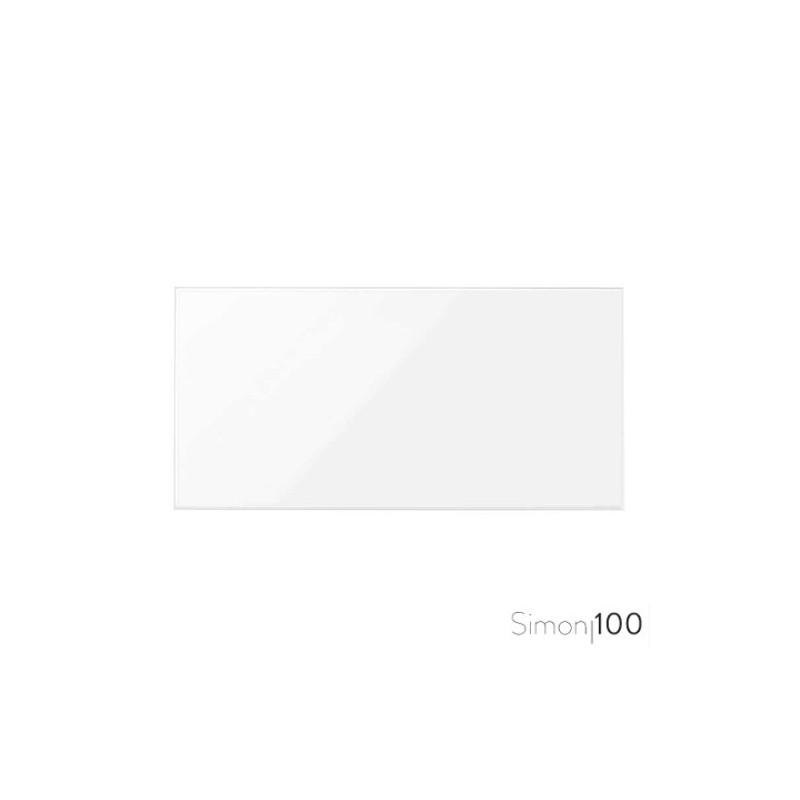 Tapa Ciega Blanco Simon 100