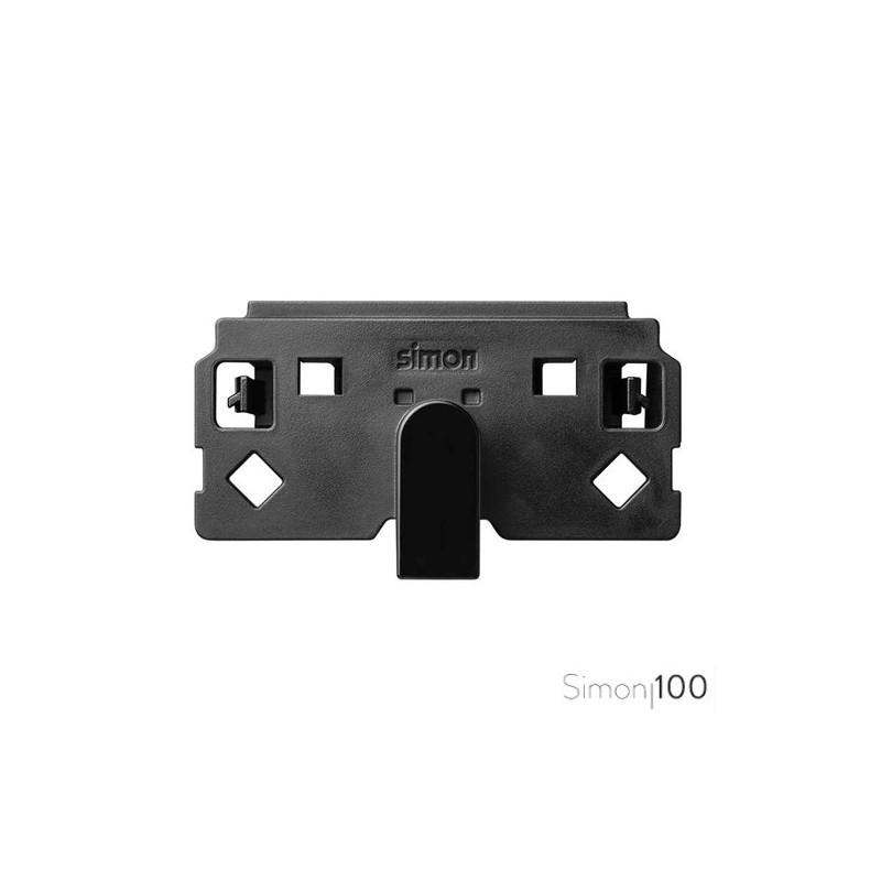 Salida de cables para hilo 1,5 mm con regleta incorporada 3 bornes Simon 100
