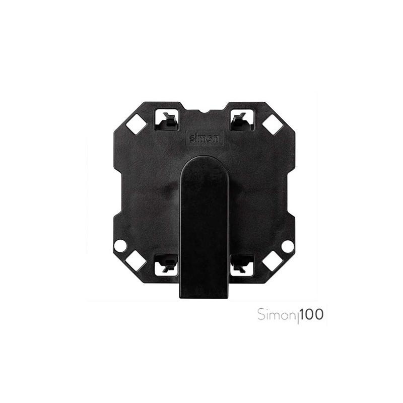 Salida de cables ancha con brida de sujeción Simon 100