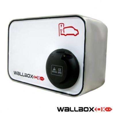 Wallbox Modo 3 con Conector Mennekes 32 Amperios 400V