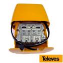 Amplificador de mástil 3e/1s BIII/UHF FM, FI, CON FILTRO LTE 561501