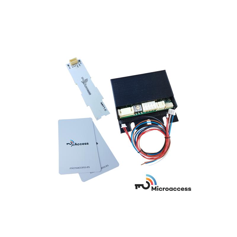Control de Accesos - Sistema μAccess Kit 1