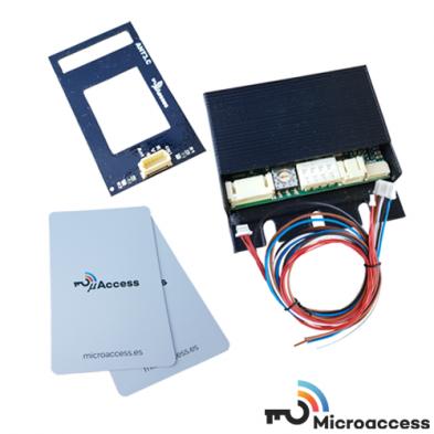 Control de Accesos - Sistema MicroAccess Kit 3