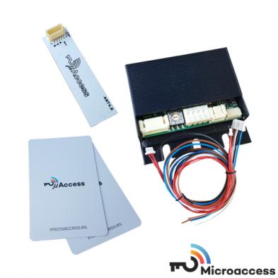 Control de Accesos - Sistema MicroAccess Kit 4