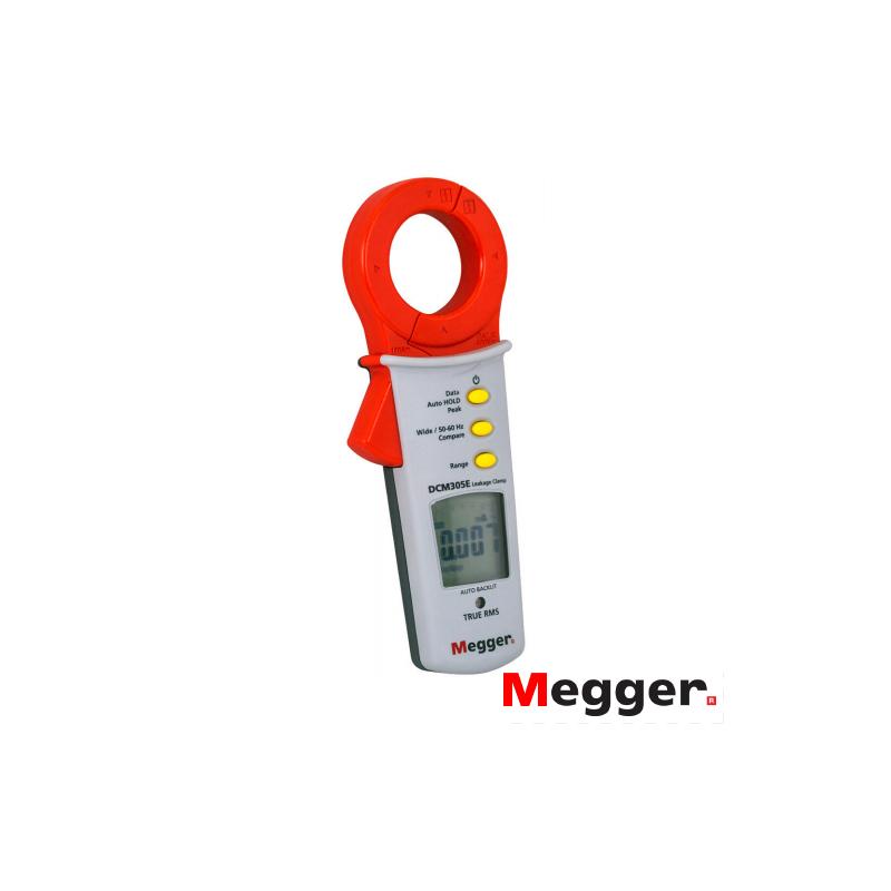 Pinza amperimétrica de fuga a tierra DCM305E