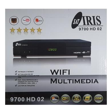 Receptor Iris 9700 HD 02 - Envío Gratis