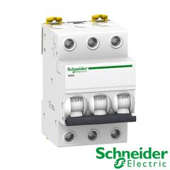 Interruptor automático magnetotérmico Trifasico iC60N 3P 16A Curva C