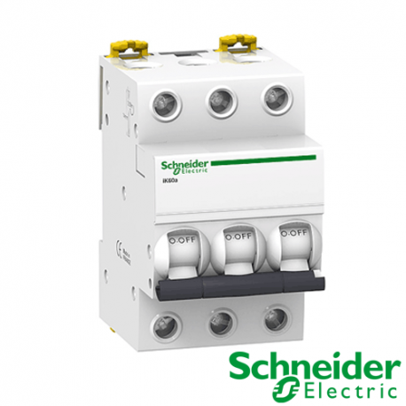 Interruptor automático magnetotérmico iC60N 3P 16A Curva C