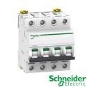 Interruptor automático magnetotérmico trifásico iC60N 4P 10A Curva C