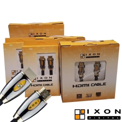 Cable HDMI 4K Metal Gold