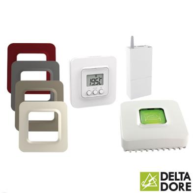 Pack Tybox 5100 Conectado Delta Dore 6050632