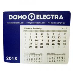 Alfombrilla Calendario 2018 Domo Electra
