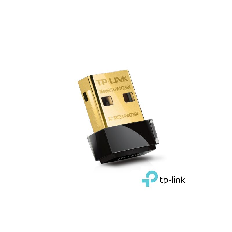 ADAPTADOR USB 2.0 WIFI 150 MBPS TPLINK FORMATO MINI