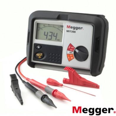Medidor de Aislamiento y Continuidad Digital 250/500V MIT300