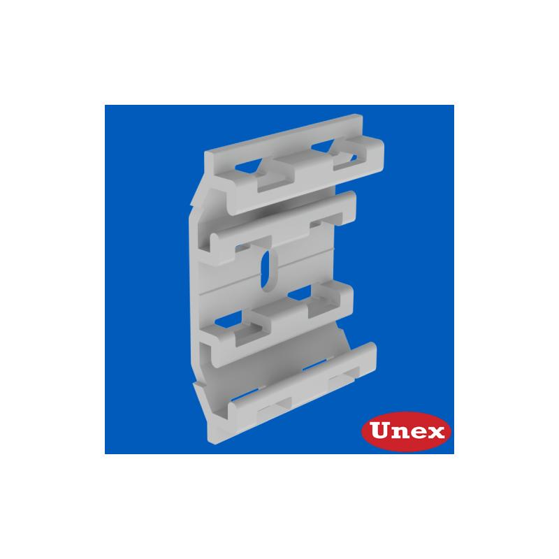 Base individual Unex 16x71 en U23X para tapa de altura 75 31175-04