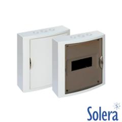 Caja Distribución Superficie Serie Arelos 8 Elementos Solera