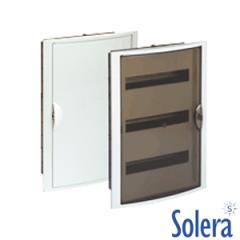 Caja Distribución Empotrar Serie Arelos 42 Elemento Solera
