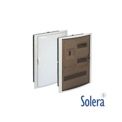 Caja Distribución Empotrar Serie Arelos 30 Elementos + 4 precintables Solera
